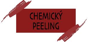 kosmetické ošetření chemický peeling