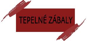 Tepelné zábaly odkaz Zuzana Kedroňová